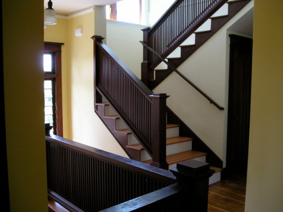 interior staircase renovation seattle